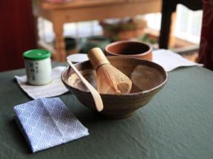 Dụng cụ để pha trà đạo Nhật Bản