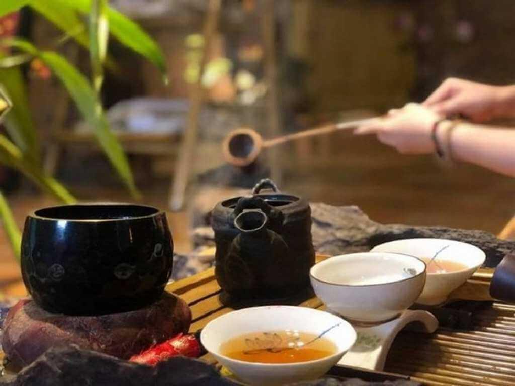 cách bước pha trà đạo