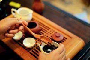 Cách thưởng thức chén trà