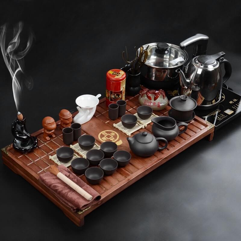 Dụng cụ pha trà sạch sẽ