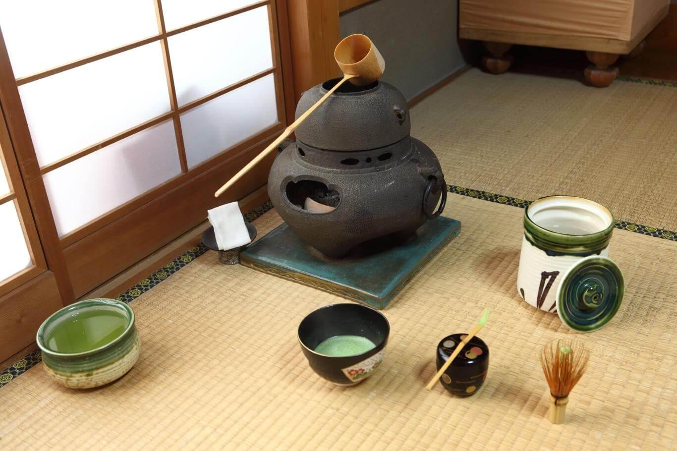 dụng cụ pha trà đạo