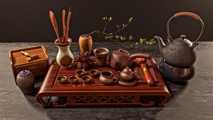 Những dụng cụ pha trà