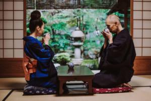 Quy tắc sau khi thưởng trà đạo Nhật Bản