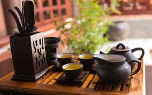 Thời gian và không gian thưởng trà